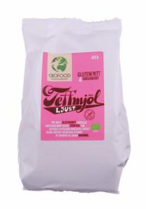 Teffmjöl ljust, ekologiskt och glutenfritt, 400g Biofood